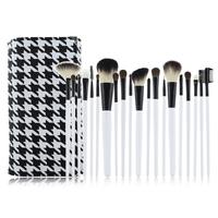 Professional 20 pcs White Wood Handle Makeup Brush Set and Kit  Makeup Tools Makeup Brush Set