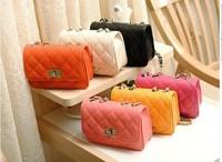 2014 new stereotypes packet Quilted chain bag diagonal fashion mini shoulder bag handbag