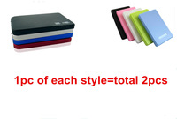 "2.5"" USB 2.0 HDD Case Hard Drive SATA External Enclosure Box HDD ENCLOSURE Wholesale Drop shipping 2501+2525"