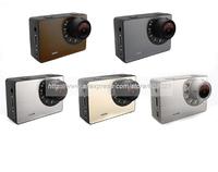 Full HD 1080P 120 degree Waterproof Underwater 30M 1.3Mega CMOS Action Camera AT91 with Waterproof Case+G-Sensor+SOS