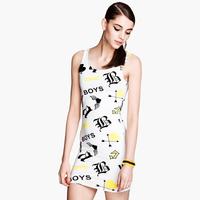 Boys Love Angel Heart Print Dress Arrow Women Summer Dress XS S M L XL XXL Casual Dress