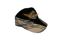 2014 new cotton snapback baseball caps Adiustable Flaming Skull Wing for Harley Motorcycle 110th anniversary