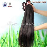 XBL Hair Peruvian Virgin Hair Straight 3pcs Lot Free Shipping Cheap Peruvian Hair Straight Human Hair Extension Tangle Free