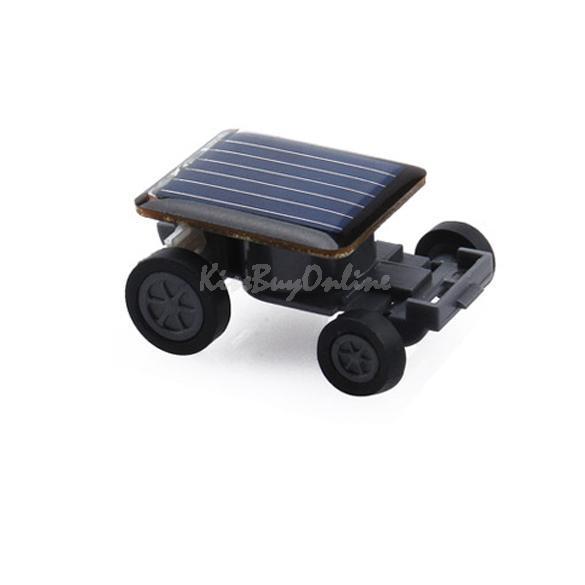 Solar Power Mini Toy Car Racer Educational Gadget W SGG#(China (Mainland))