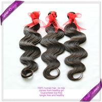 6A Unprocessed Virgin Brazilian Hair Weaves Bundles Natural Black hair Brazilian body wave 5/6pcs lot 100% Human Hair Extensions