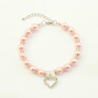 Armi store Handmade Pearl Dog Cat Jewelry Necklace 51001 Size L / M / S / XS Pet Collar