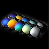 sunglasses Mirrored silver gold high quality 2014 hot fashion blue mirror eyewear brand vintage men women sunglasses #00WYJ001
