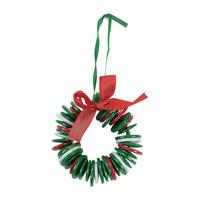 12PCS/LOT.DIY christmas button garland craft kits,Button crafts,Christmas tree oranment,Xmas toys,Xmas decoration.Novelty toys.