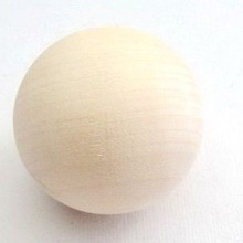 20pcs/lot 40mm solid wood balls,Toy ball,Mini ball,Doll head,Early educational toys,Wood toys,Free shipping(China (Mainland))