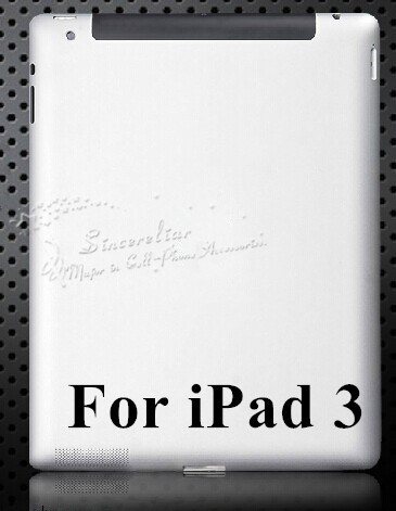 100% original For iPad 3 battery door back cover case housing 3G version(China (Mainland))