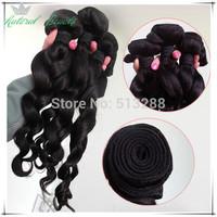 Bele Virgin Hair Wet and Wavy Virgin Brazilian Hair 10PCS/Lot Brazilian Virgin Hair Natural Wave Brazillian Hair Weft
