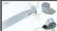 New 2014 Skinny Tie for men 5cm Solid Color Plain Necktie 200pcs/lot wholesale