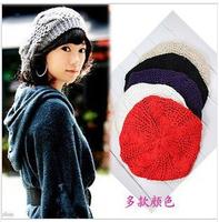 new 2014 winter women Skullies & Beanies knitting wool hat cap twist bonnet stocking hat