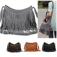 2014 European&American Style Star Fashion Tassels Bags Clutch Purses Handbags women Shoulder Bags