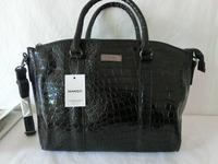 New Fashion 2014 Women Famous Brands Handbag Crocodile Pattern Serpentine Retro Women Leather Shoulder Bag Mango Tote 37022