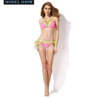 2015 relleciga пляж партии, навсегда сексуальная облицованная полный bandeau Топ бикини с мягкими пуш-ап съемные обивка
