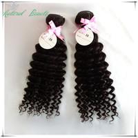 Wholesale hair:Queen hair Brazilian deep curly virgin hair,human hair deep wave,10pcs lot Natural color Free shipping