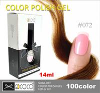 10pcs/lot 100% Brand New GDCOCO Art Nails  For LED UV Lamp Shellac gel nail polish 14ml Free Shipping  #30127-037