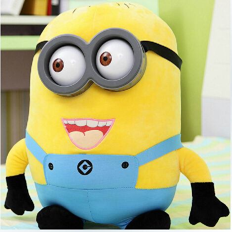 Big Size 18CM 3D Despicable ME Very Big Movie Plush Toy 20Inch Minions Toys & Hobbies One PCS(China (Mainland))