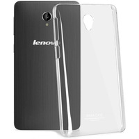 Original iMAK Super Thin Transparent Clear Crystal Shell Hard Case for Lenovo S860 phone case