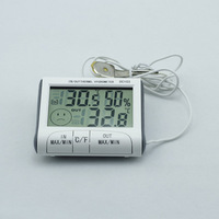 NEW  Portable Electronic LCD Digital Indoor Outdoor Weather Thermometer Hygrometer Humidity Meter C / F