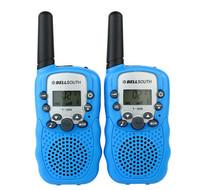 New Arrived Wireless Walkie Talkie T-388 LCD 5km UHF Auto Multi Channels 2-Way Radio 0.5W Output 2pcd/set