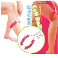 Free shipping leg bump roller massage roller body massage tool massageador, health care,sex products,2pcs/lot