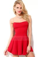 2014 summer dress new sexy dress Princess Bra fashion evening dress party dressXL