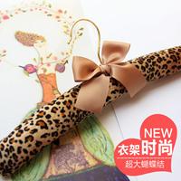free shipping fashion luxury high quality women's cloth racks hangers clothing dress leopard print OEM
