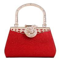 Promotion ! 2014 Evelope Clutch Women Handbag Fashion Evening Handbag Red Handbag Wedding Party Bag