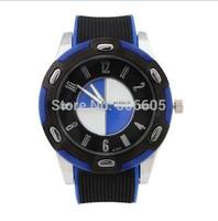 Business Luxury Brand Ar Top Quality Brand Watch Men Watches Rubber And PU Starp Quartz Watch Best Gift 2014 Hot