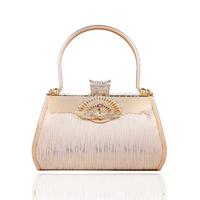2014 New Arrival Women Gold Handbag Wedding Clutch Evening Handbag Party Purse Evening Party Bags