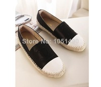 hot 2014 new fashion classic Round toe casual women flats shoes woman Flat heel sweet luxury brand Student women shoes