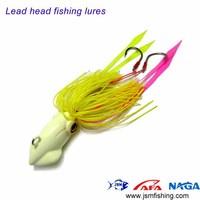Free ship 3pcs Lead head fishing jigs Madai lure