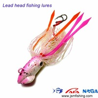 3pcs jig head rubber fishing lure with Free Shipping