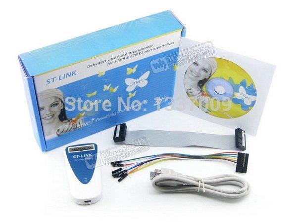 ST-LINK ST LINK STLINK In-circuit Debugger and Flash Programmer for STM8 STM32 MCUs 100% Original(China (Mainland))