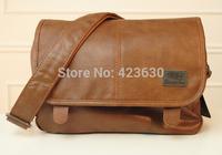 Wholesale vintage men messenger bags man pu leather bag fashion casual bag men's crossbody bag