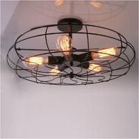 5 light Edison Loft RH countryside industrial vintage ceiling lamp light