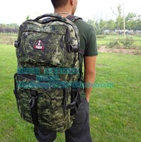 2014 new antique backpack large capacity men of high quality canvas Travel bags in camouflage 59 * 33 * 33 LXB01#