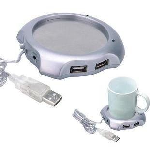 Higi Quality Coffee Tea Cup Warmer Heater PAD OFFICE 4 Port USB Hub Free Shipping DHL UPS EMS HKPAM CPAM(China (Mainland))
