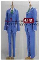 Anime Accel World Kuroyukihimei high School Student's uniform cosplay costume set