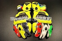 2012 Dennis titanium alloy MOTO GP racing gloves leather gloves we DFR