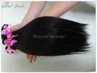 3 pcs lot Queen Brazilian Virgin human hair weave Straight 5a Grade Brazilian virgin hair extension free shpping