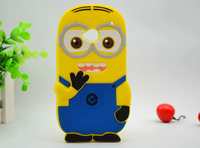 Despicable Me God Steal Dad Minions Silicon case For HTC one M7 Free shipping 515-12