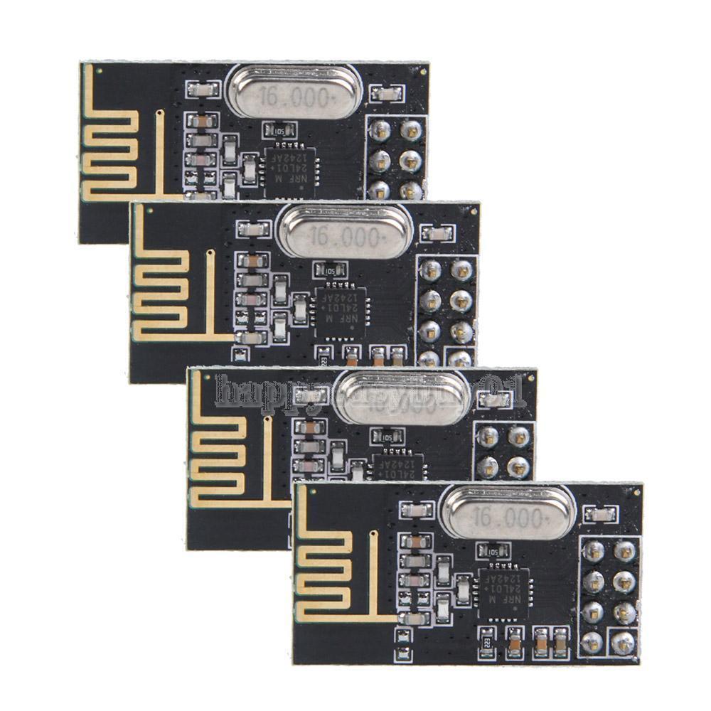 4pcs NRF24L01 + módulo 2
