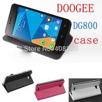 High Quality Original Horizontal Flip PU Leather Case For Doogee Valencia DG800, Free Shipping