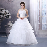 2014 New Arrival High Quality Wedding Dress Custom-Made Fashion Lace Up Gown Sweetheart Mermaid Wedding Dresses Drop Shipping