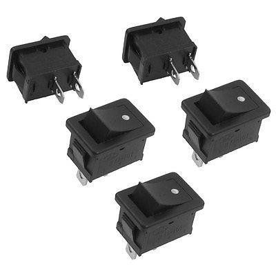 Кулисный переключатель 5 AC 250V/6A 125V/10 2 SPST кулисный переключатель switch 10 x spst 2 2 250v 16a ac 125v 20a