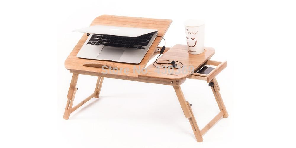 Table en bois pour ordinateur portable magasin darticles for Petite table pour ordinateur portable
