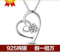 Selling jewelry wholesale Love your heart Delicate ShanZuan high quality necklace